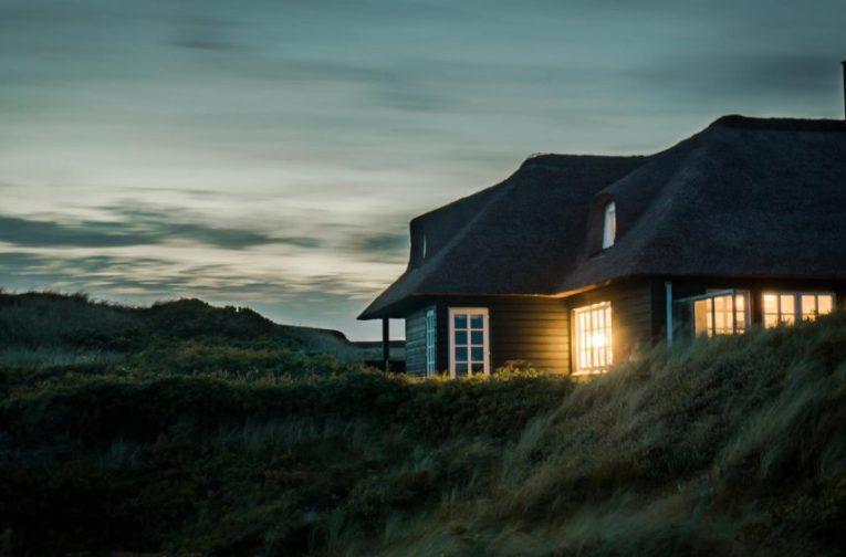 La fotografia di una villa