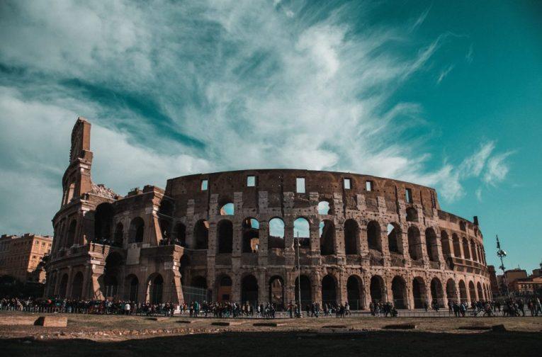 Lavoro scena Colosseo
